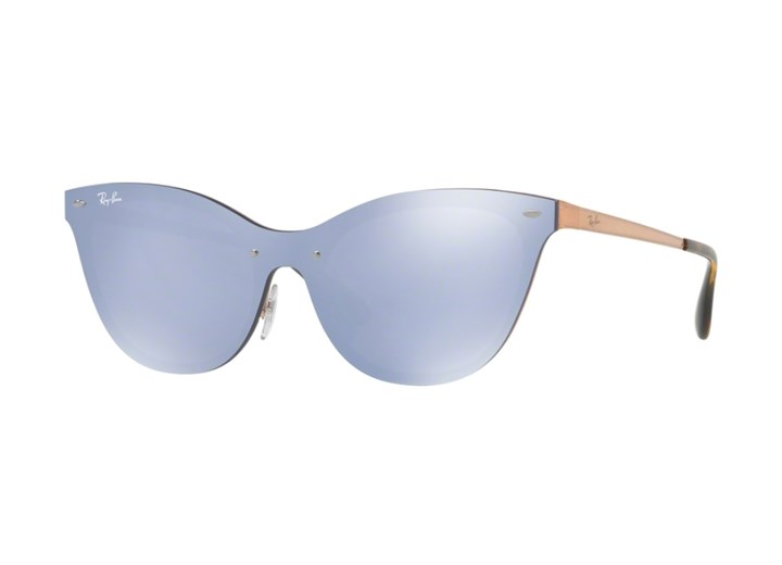 Óculos de Sol Ray Ban Blaze Cat Eye - RB3580N 90391U43