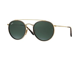 Óculos de Sol Ray ban Round Double Bridge - 0RB3647N 001   51