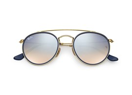 Óculos de Sol Ray Ban Round Double Bridge - 0RB3647N 001/9U51