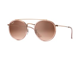 Óculos de Sol Ray Ban Round Double Bridge - 0RB3647N 9069A551