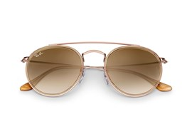 Óculos de Sol Ray-Ban Round Double Bridge 0RB3647N - Polarizado - 907051 51